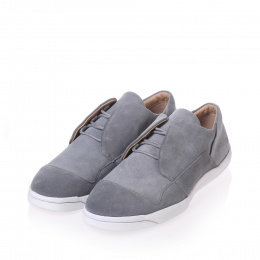 365g light grey suede